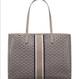 Tory Burch Gemini Tote in French gray